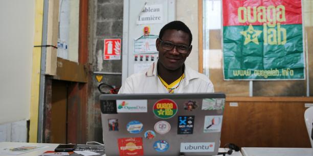 Gildas Guiella, cofondateur du Ouagalab.