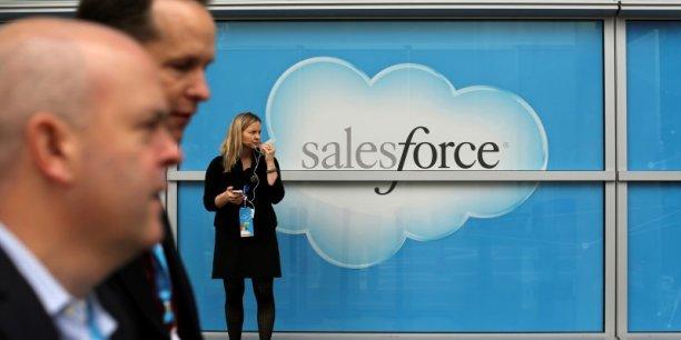 Malgré des résultats trimestriels supérieurs aux attentes et en progression sur un an, le cours de Bourse de Salesforce a chuté.