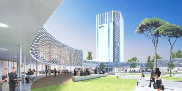 La future Airbus Leadership University accueillera les cadres du groupe à partir d'octobre 2016.