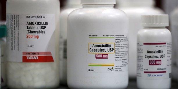 L'amoxicilline représente 37,6 % de la consommation d'antibiotiques en ville