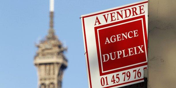 Les prix de l'immobilier ne connaissent pas de baisse significative à Paris.