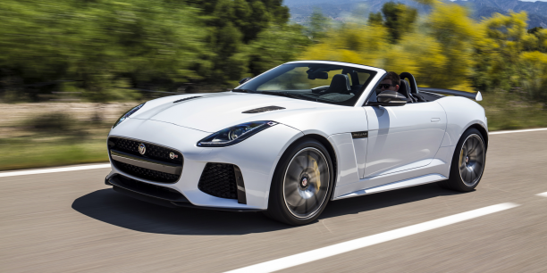 jaguar f type svr une voiture sportive tr s aboutie. Black Bedroom Furniture Sets. Home Design Ideas