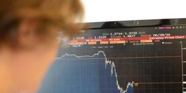 """L'annonce du Brexit, vendredi 24 juin, constitue """"l'un des plus gros choc de tous les temps"""" sur les marchés, selon ETX Capital."""