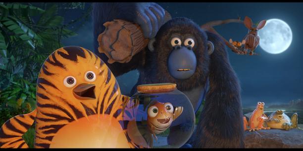 La fin de production du film d'animation Les As de la Jungle a été annoncée pour avril 2017.