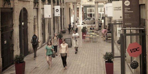 Le Village des créateurs au coeur du 1er arrondissement de Lyon.