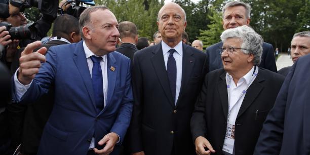 Le président du Medef, Pierre Gattaz, a réussi à faire venir à l'université d'été de son organisation une belle brochette de candidats déclarés ou potentiels à l'élection présidentielle.