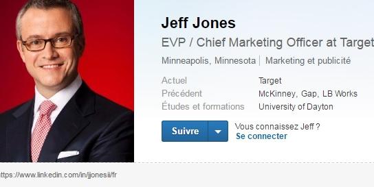 Jeff Jones aura entre autres pour mission d'optimiser la stratégie marketing de la multinationale qui veut concentrer ses efforts sur les clients et les chauffeurs.