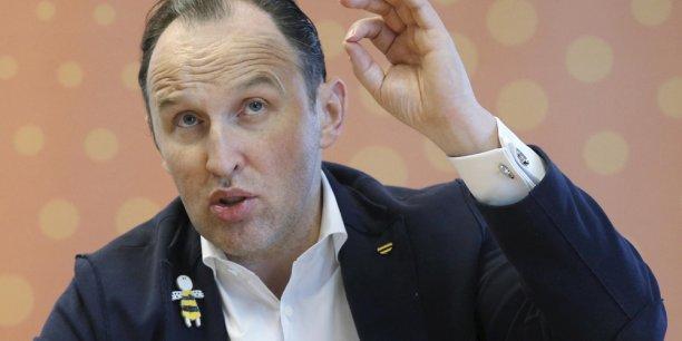 Mikhaïl Slobodine, ex-directeur général de Vimpelcom Russie (Beeline).