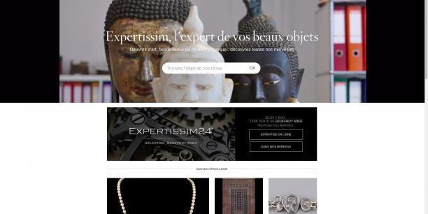 Le site Expertissim.com vous permet d'acheter des œuvres rares en quelques clics.