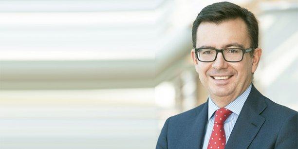 Román Escolano, vice-président de la Banque européenne d'investissement (BEI)