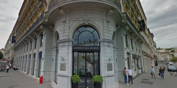 L'Institut Paul Bocuse, place Bellecour à Lyon.