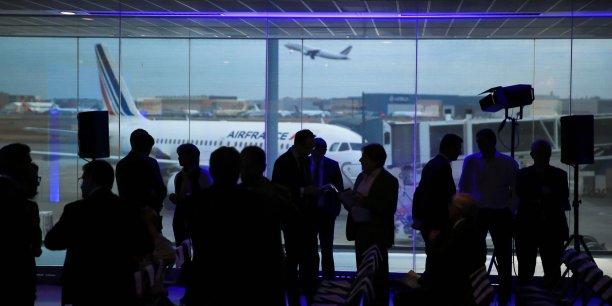 La soirée s'est déroulée dans le Hall A de l'aéroport