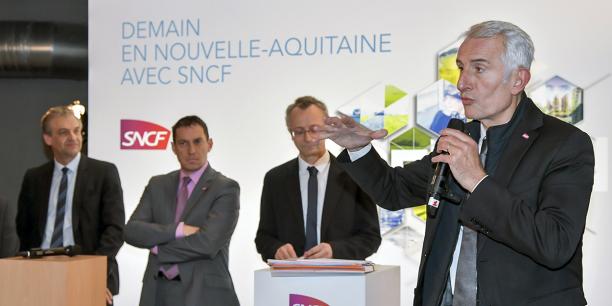 Guillaume Pepy, président du directoire de la SNCF, passe deux jours à Bordeaux