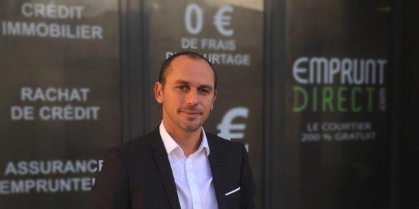 Alban Lacondemine, fondateur et dirigeant d'Emprunt Direct.