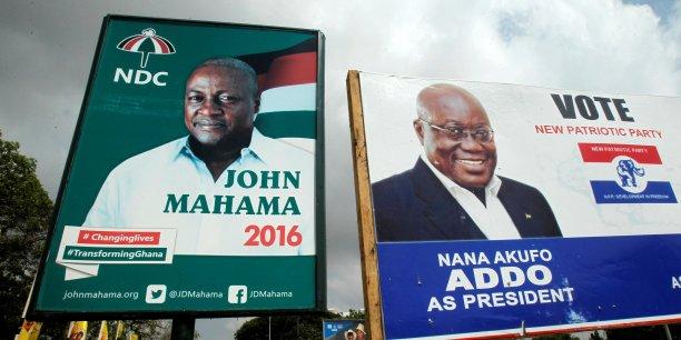 Premier tour de la présidentielle sur fond de tensions — Ghana