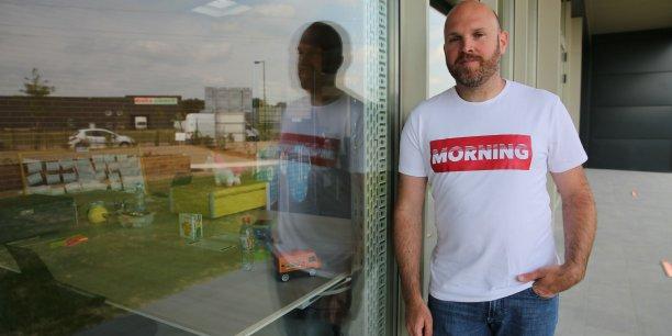 Eric Charpentier, fondateur de Morning