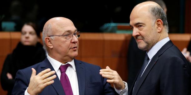 La plupart des économistes anticipent une croissance plus faible que celle prévue par le gouvernement et le ministre de l'Economie et des Finances Michel Sapin.