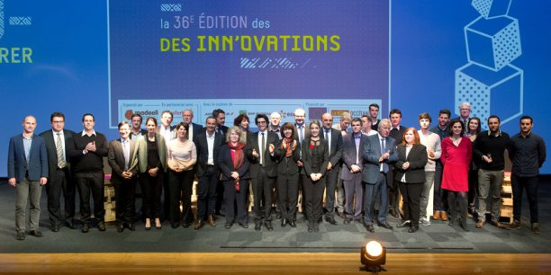 Tous les lauréats de cette 36e édition des Inn'ovations, en clôture de Midinnov jeudi 26 janvier 2017.
