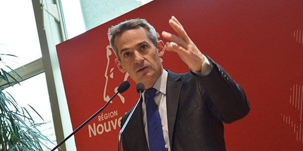 Mathieu Hazouard, conseiller régional de Nouvelle-Aquitaine délégué au Très haut débit et à l'Économie numérique