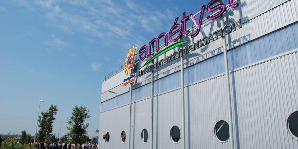 L'usine de traitement de déchets Amétyst a été inaugurée en 2008