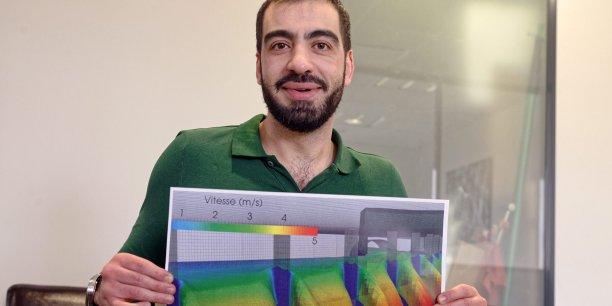 Jonathan Wertel, président co-fondateur de 3D Eau (Photo ©Olivier Mirguet)
