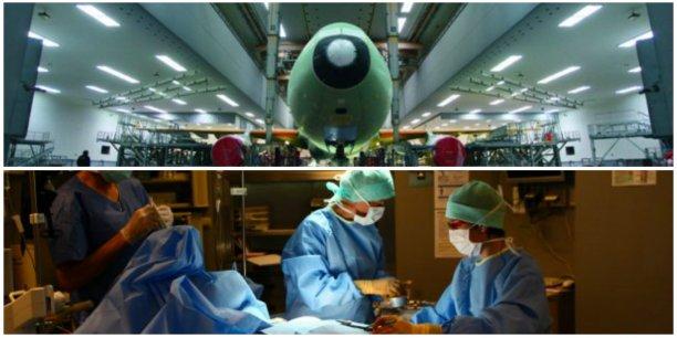 Les transferts de technologies entre aéro et santé sont de plus en plus fréquents