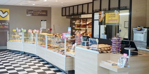 Exemple d'une boulangerie franchisée : La Mie Câline