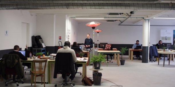 Les startuppers sont déjà au travail dans les locaux de Momentum