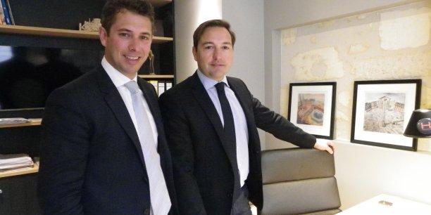 Pierre Vital et Edouard Myon, co-gérants d'Ideal Groupe