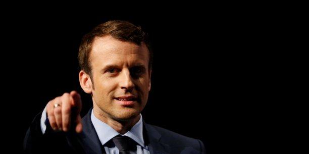 Emmanuel Macron, candidat d'En Marche! à la présidentielle, compte sur le numérique pour permettre la simplification de l'administration et l'amplification des dispositifs existants pour stimuler l'innovation.