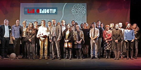 Les invités et partenaires du Lab'Objectif 2017, qui a attiré 400 participants à l'Espace Dièze de Montpellier