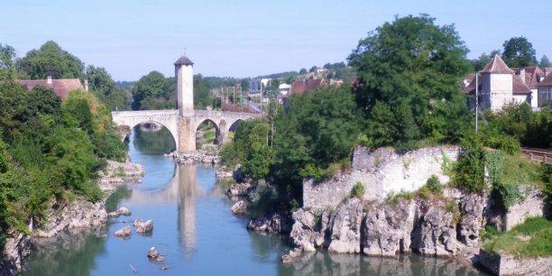 Orthez, le pont vieux