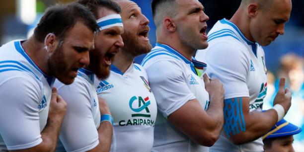 La Banque verte est le sponsor officiel de l'équipe de rugby d'Italie qui a affronté samedi à Rome le XV de France sorti victorieux