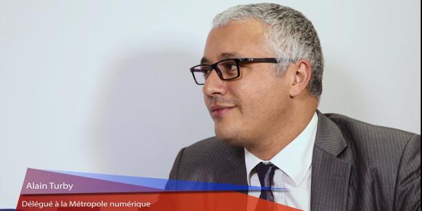 Alain Turby est conseiller délégué en charge de la Métropole numérique.