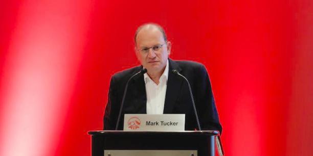 Mark Tucker, actuellement Pdg de l'assureur asiatique AIA
