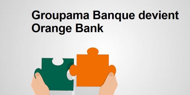 En attendant le lancement d'Orange Bank, Groupama Banque a été rebaptisée temporairement GBanque. L'assureur en détient 35%.