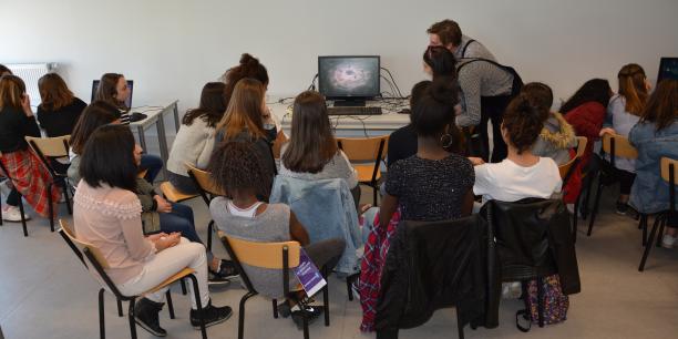 115 collégiennes ont participé à la deuxième édition Digigirlz à Digital Campus à Bordeaux.