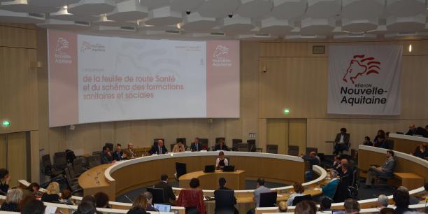 La Région Nouvelle-Aquitaine a lancé vendredi la construction de la feuille de route santé et du schéma des formations sanitaires et sociales. Les votes sont prévus fin 2017.