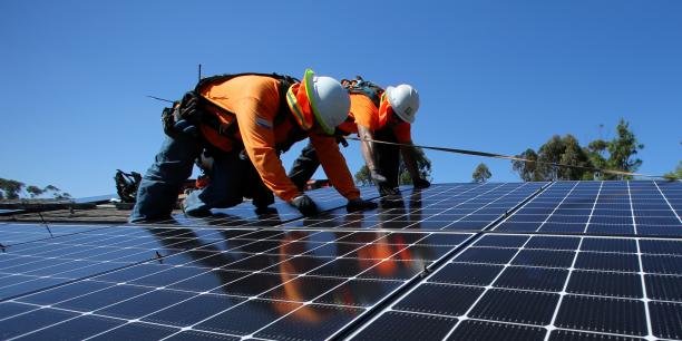Veolia prend pied dans le recyclage des panneaux solaires for Recyclage des panneaux solaires