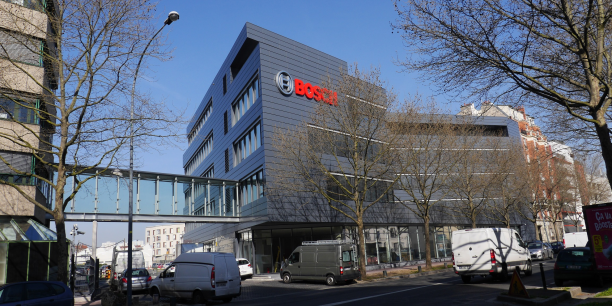 bosch france inaugure son campus con u pour cr er une ambiance startup. Black Bedroom Furniture Sets. Home Design Ideas