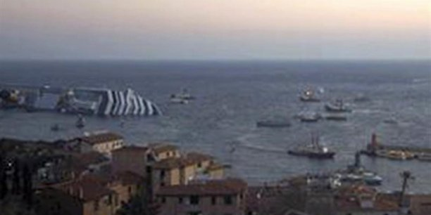 Naufrage du Costa Concordia au large de La Toscane - Photo Reuters