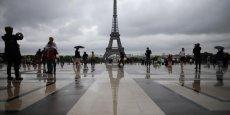 En moyenne, le prix d'une chambre d'hôtel constaté à Paris était de 138 euros en 2015 d'après le baromètre HRS.