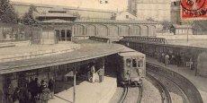 Première ligne du Métropolitain parisien datant de 1908 - station Bastille./ DR