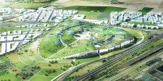 Le projet Europa City s'étalera sur 80 hectares, dans le Val d'Oise, et à la limite de la Seine-Saint-Denis