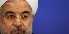 Le guide suprême iranien Ali Khamenei et le président Hassan Rohani (sur la photo) ont vivement critiqué mercredi la décision de la justice américaine de saisir deux milliards de dollars des fonds iraniens gelés aux Etats-Unis