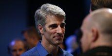 Craig Federighi a fait sensation lors de la présentation des nouveaux systèmes d'exploitation Apple | REUTERS