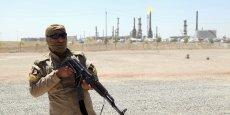 Détenteur de 37% des grands champs pétroliers de Rumaila et Halfaya, menacés par les terroristes, CNPC (PétroChina) en a tiré en 2013 plus de 40 millions de tonnes de pétrole, soit le tiers de la production que le groupe contrôle à l'étranger. / REUTERS