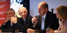 Philippe et Pierre-George Chausson lors de la Matinale Objectif News