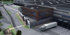 Visuel d'architecte du projet de reconstruction à Saint Quentin Fallavier en Nord Isère
