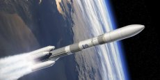 """L'objectif avec Ariane 6 est de réduire les coûts """"de 40% à 50%"""" par rapport à Ariane 5, selon le président d'Airbus Safran launchers, Alain Charmeau"""